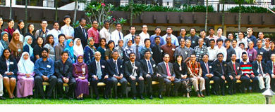 Photo of The participants of Head Neck Surgery Retreat 2009