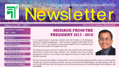 Photo of MSO-HNS Newsletter Volume 11