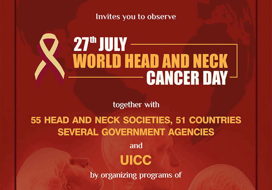 The 4th World Head and Neck Cancer Day - MSO-HNS