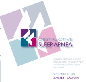Obstructive Sleep Apnea Course (OSAS) Zagreb @ Hotel Dubrovnik – Congress rooms Ljudevita Gaja 1 PP 246, 10000 Zagreb Croatia | Zagreb | Croatia